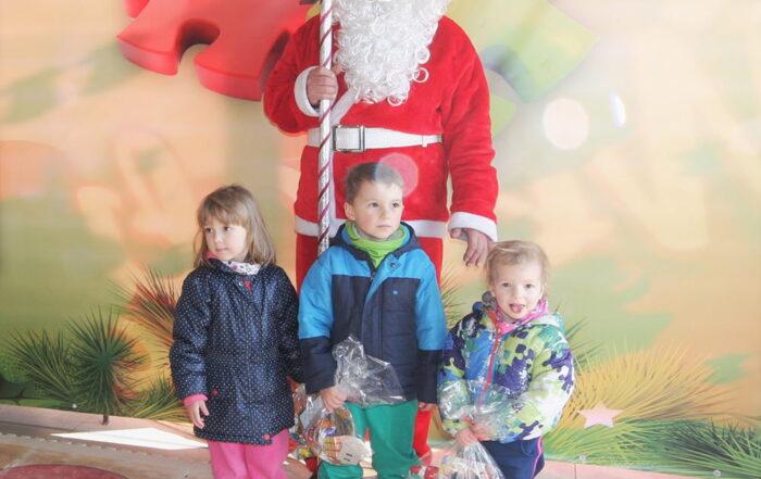 Święty Mikołaj w minieurolandzie