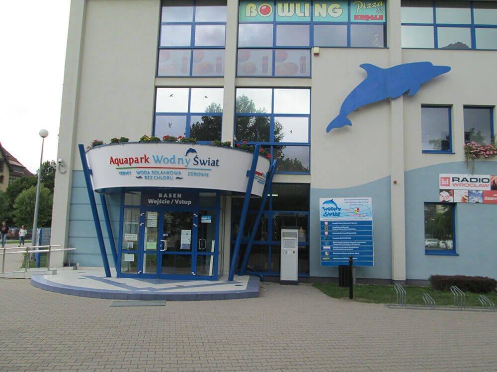 Aqua park Wodny Świat Kudowa Zdrój Atrakcje dla rodzin Kotlina Kłodzka