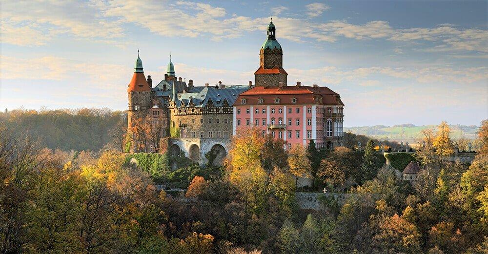 Atrakcje Kotlina Kłodzka Zamek Książ