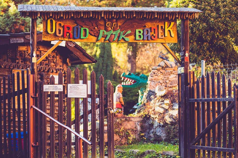 Ogród Bajek Międzygórze Atrakcje dla dzieci kotlina kłodzka