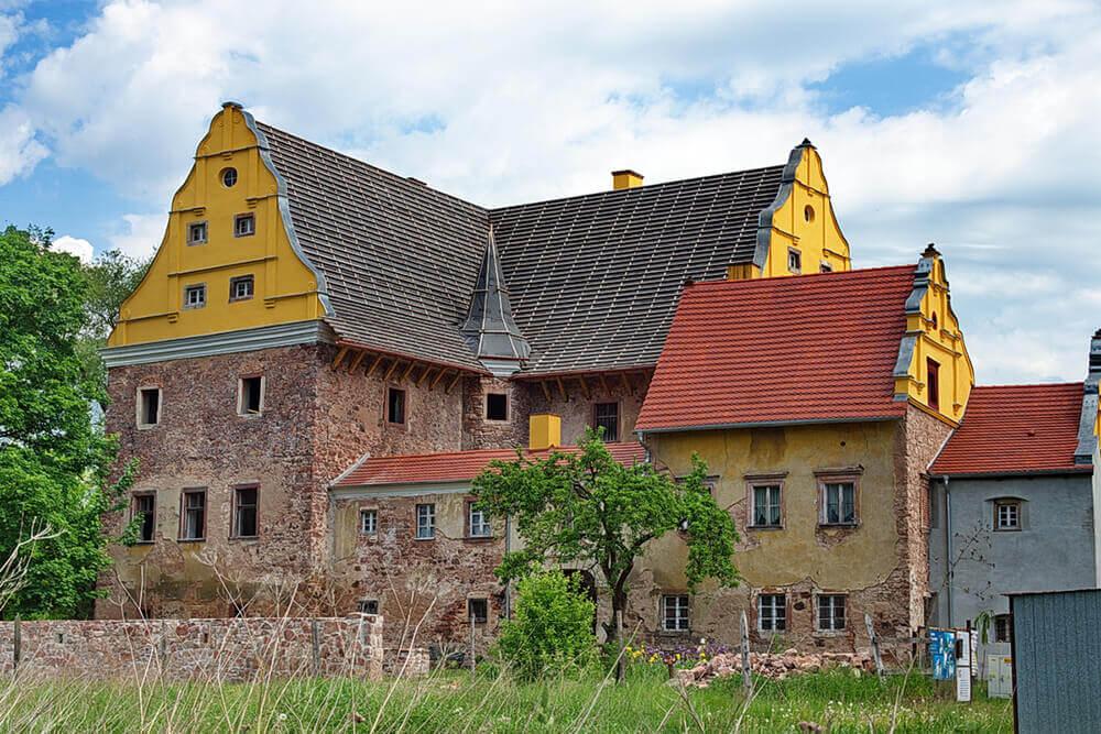 Zamek Kapitanowo ścinawka średnia, atrakcje kotlina kłodzka