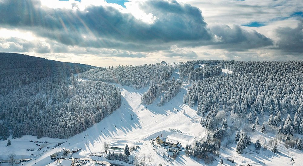 Zieleniec ski arena atrakcje kotlina kłodzka