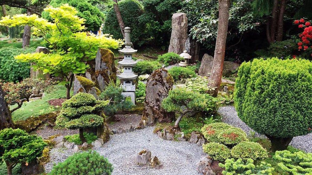 ogród japoński w Jarkowie atrakcje kotlina Kłodzka
