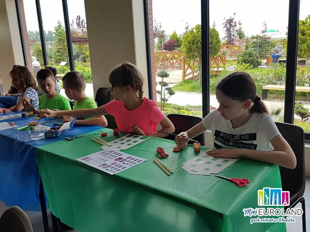 Twórcze zajęcia dla dzieci