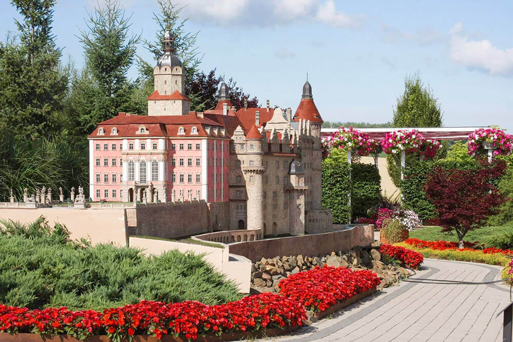 Zamek Książ makieta